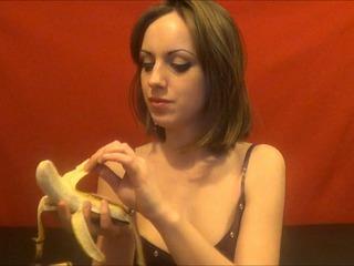 Banane in versauter Schlampenfotze!