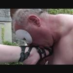 Schluck und Leck die säfte Du Sklaven sau